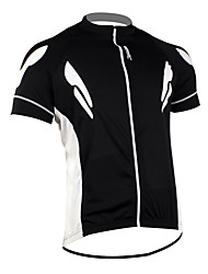 Santic 100% Polyester Short Sleeve Quick-drying Cycling Jersey for Men C02023H