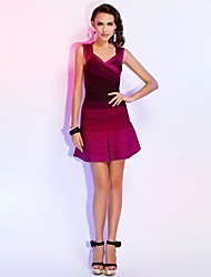 TS Couture® Cocktail Party Dress - Multi-color Petite A-line Straps / Sweetheart Short/Mini Rayon