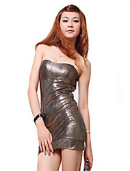Women's Club Sexy Dress Polyester / Spandex