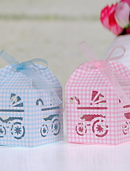 Laser Cut Baby Favor Box - Set of 12 (More Colors)