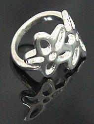 Banhado a oca-out cinco pétalas anel de flor