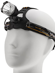 5W Rechargeable 3-Mode Cree XP-G R5 LED Headlamp with Adjustable Strap (240LM)