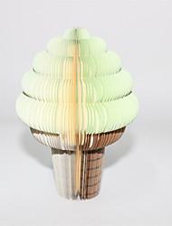 Gosto de maçã Ice Cream em forma de papel Nota Auto-Stick