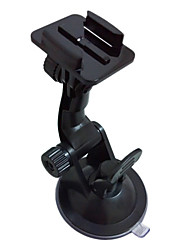 High-Strength Folding Car Holder For GOPRO Outdoor Sport Cameras (Black)