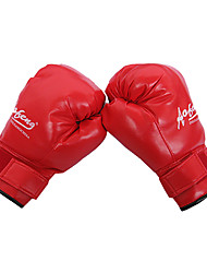 Leather Full Finger Wearable Boxing Gloves (Average Size)