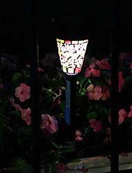 Mosaic Solar Energy Lawn Lamp