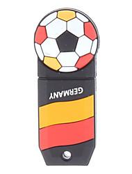 Alemán-Ball plástico con forma de USB Memory Stick 4G