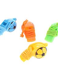 Sifflet de football pour les enfants (couleur aléatoire)
