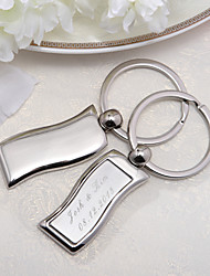 Personalized Simlpe Keyring (Set of 4 Pieces)
