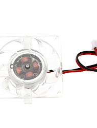 White Plastic PC Chassis Cooling Fan(4cm) ECS003243