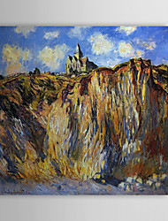 Famous Oil Painting The Church at Varengeville,Morning Effect by Claude Monet