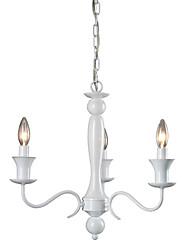 Max 60W Rustikal/ Ländlich Candle-Art Galvanisierung Kronleuchter Wohnzimmer / Schlafzimmer / Esszimmer / Korridor / Garage