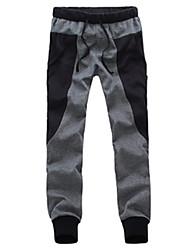 tecido costura masculina harem pants