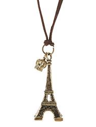 Bijoux Pendentif de collier / Colliers Vintage Quotidien Alliage / Cuir Femme Doré Cadeaux de mariage