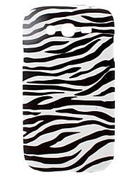 Zebra-Streifen-Muster Hülle für Samsung Galaxy I9082 Große Duos
