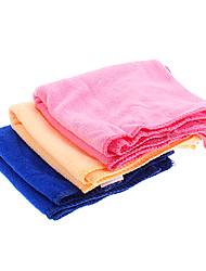 Wasser-absorbierende Mikrofaser Reinigungstuch Pet Anzug (3-teilig, 70 x 30 x 0,2 cm)