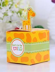 Baby Shower Favores y regalos de la fiesta-12Piezas / Juego Cajas de regalos Papel de tarjeta Tema Fantástico Cúbico