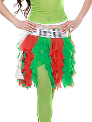 Dancewear Pellava tupsut Belly Dance Belt For Ladies Lisää värejä