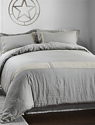 Stripe Linen Duvet Cover Sets