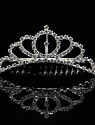 Gorgeous Alloy Rhinestones Wedding Bridal Tiara