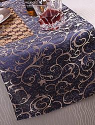 Style de motif floral Polyester Table Runner européenne