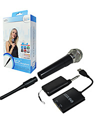 PEGA Wireless Microphone pour Wii U/Wii/PS2/PS3/Xbox 360/PC