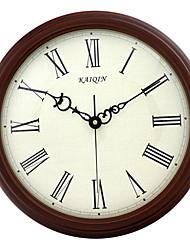 """16 """"h roma relógio de parede numeral mudo"""