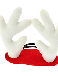 Dog Hair Accessories Red Winter Christmas Cosplay / Christmas