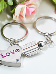 Personalized Keyring - Love (Set of 6 Pairs)
