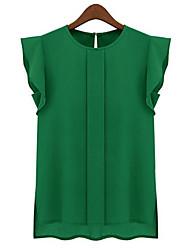 Women's Green/Pink Shirt Sleeveless