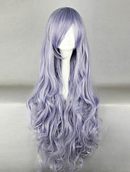 Cosplay Wigs Natsume Yuujinchou Cosplay Purple Long Anime Cosplay Wigs 100 CM Male / Female