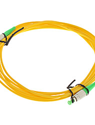 Fiber Optic Cable, FC/APC-FC/APC-UPC, Single Mode - 3 meter