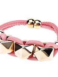 Mode Pyramide PU Bracelet