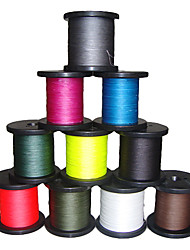 500M / 550 Yards PE Braided Line / Dyneema / Superline Fishing LineBlack / Green / White / Yellow / Gray / Fuchsia / Red / Blue / Dark
