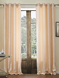 (One Panel) Classic Jacquard Floral Energy Saving Curtain