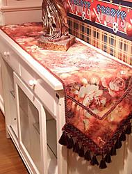 Style floral conception de glands Chemin de Table Poly / Coton européenne