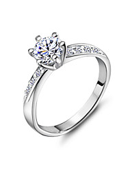 Women's Alloy Ring Crystal Alloy