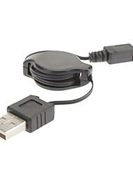 8P para USB M / M Cabo escalável para SANYO (0,5 M)