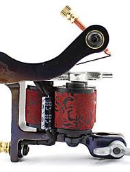 Carbon-Steel Wire-Cutting Dual Coils 10 Wraps Tattoo Machine Gun for Shader