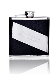 Gift Groomsman Personalized Quality Stainless Steel 6-oz Flask
