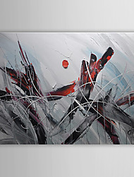 Hand-Painted Abstract One Panel Canvas Oil Painting For Home Decoration