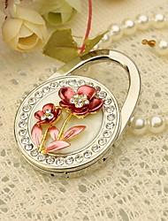 Floral monedero Favor Valet con diamantes de imitación