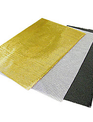Black / White / Yellow Aluminum Rectangular Placemats
