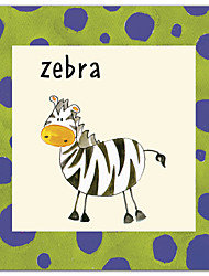 Stretched Canvas Art Animal Zebra by Esteban Studio Ready to Hang