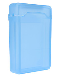 3.5-Inch Plastic Material Mobile Hard Dish Protective Case HD302 (Blue)