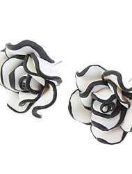 OLL Rose Stud Earrings