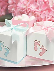 Pterry Feet Cut-out Favor Box - Set of 12 (More Colors)