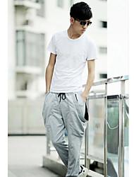 Men's Sweatpants , Casual Pure Cotton Blend