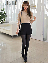 Shorts a vita alta Solid donna