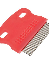Portable Pure Color Style Mini Metal Delouse Combs for Dogs
